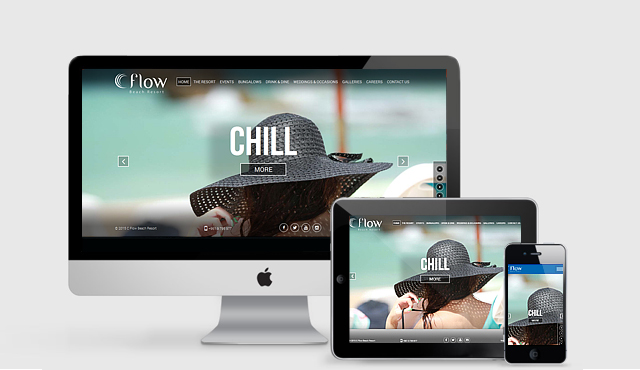 Responsive Website for C Flow