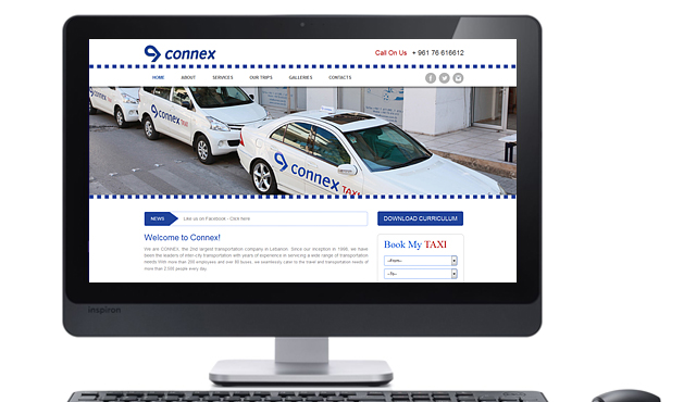 Website for Connex