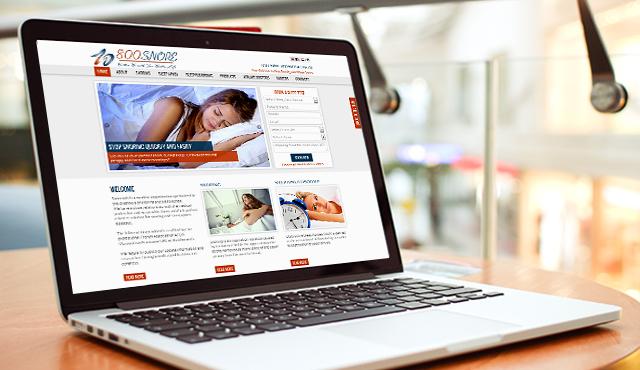 Website for Snorents