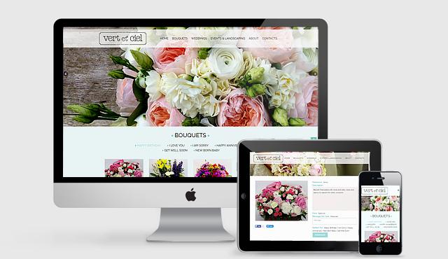 E-Commerce Website for Vert et Ciel
