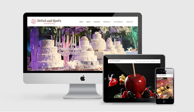 Website for Bread & Roses