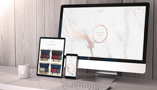 E-Commerce Website for MARAMI