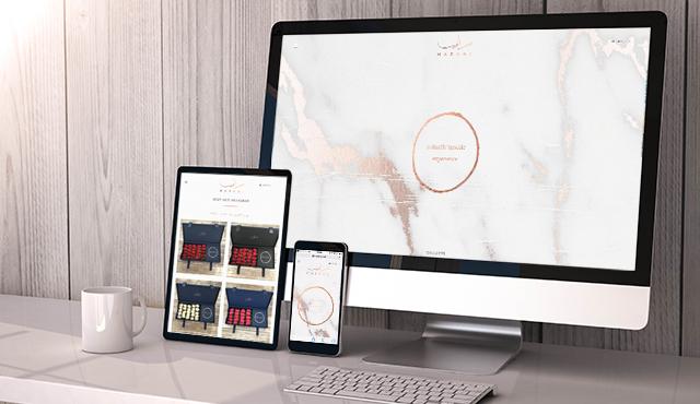 E-Commerce Website for MARAMI